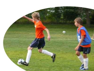 "playing soccer. ""It#39;s like playing soccer in"